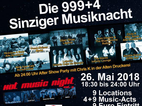 Plakat Schön Tön 2018
